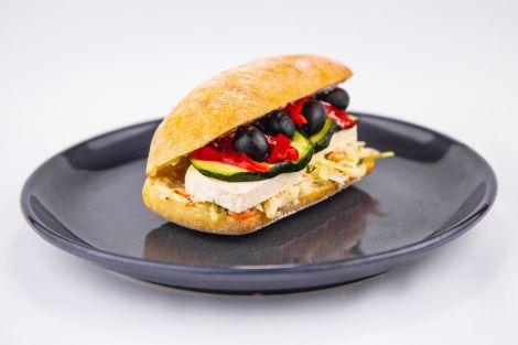 Kanapka z serem solankowym